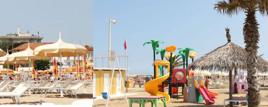 vacanze hotel rimini mare Hotel Rimini ponte 2 giugno in riva al mare