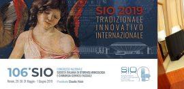 Congresso Nazionale SIO e ChCF Rimini maggio-giugno 2019